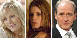 de g. à d. : Malin Akerman, Kate Mara, Richard Jenkins