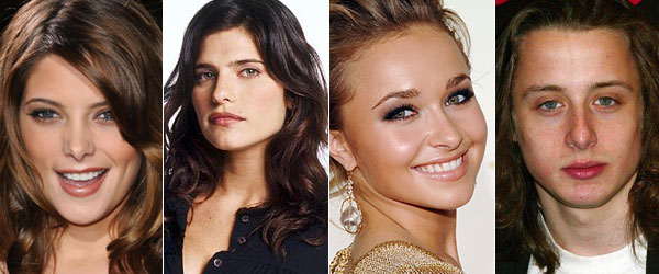 De g. à d. : Ashley Greene, Lake Bell, Hayden Panettiere, Rory Culkin
