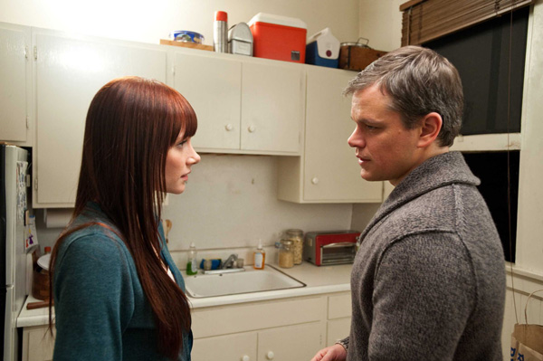 Bryce Dallas Howard et Matt Damon dans HEREAFTER