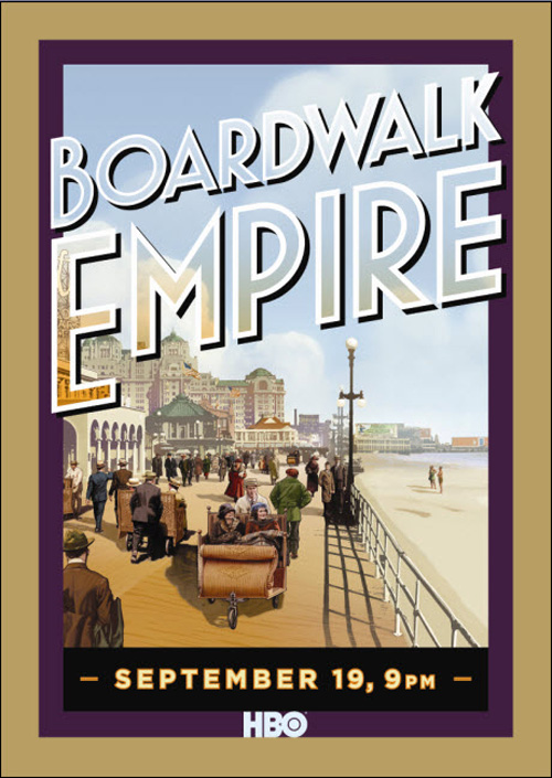 BoardwalkPosterVintage