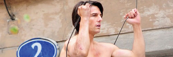 Mission Impossible 4 : Tom Cruise, cascadeur au torse nu