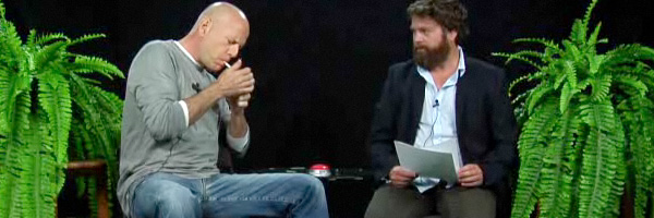 The Galifianakis of the day : Zach vs Bruce Willis