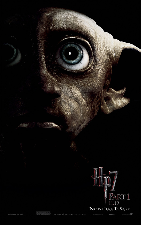 Harry Potter 7 Poster BlackSeries-Dobby-600