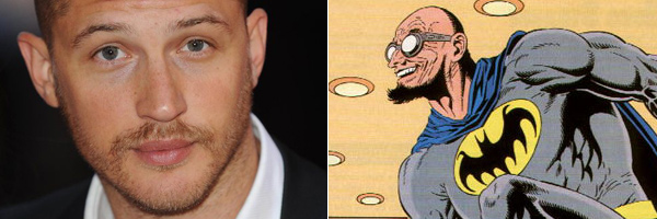 The Dark Knight Rises : la rumeur fait de Tom Hardy l'interprète du méchant Dr Hugo Strange
