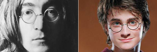 T-Shirt : quand John Lennon croise Harry Potter