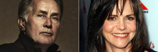 Spider-Man : Martin Sheen en Oncle Ben. Sally Field en Tante May ?