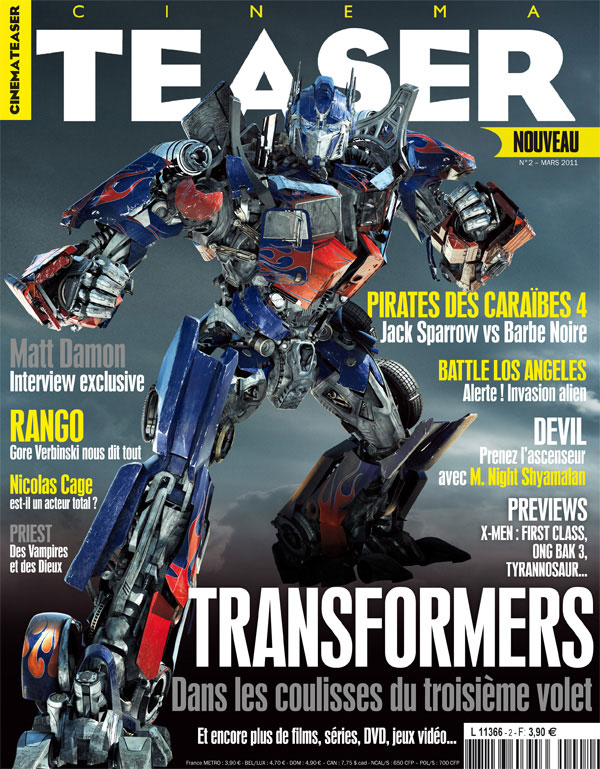 TRANSFORMERS 3: The Dark of the Moon (2011)... Spoiler/Rumeurs [page 2] - Page 39 NUMERO-2