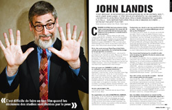 Interview dans Cinemateaser n°6 de John Landis