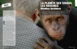 Dossier Rise of The Apes / La Planète des singes : les origines