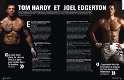 Magazine Cinemateaser n°7 - Warrior - Interview de Tom Hardy et Joel Edgerton
