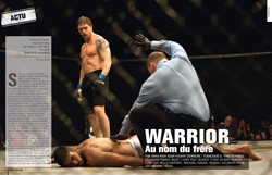 Magazine Cinemateaser n°7 - Warrior, avec Tom Hardy et Joel Edgerton