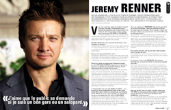Interview de Jeremy Renner - Cinemateaser n°10