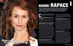 Interview de Noomi Rapace - Cinemateaser n°10
