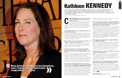 Cinemateaser 11 - Février 2012 - Interview de Kathleen Kennedy
