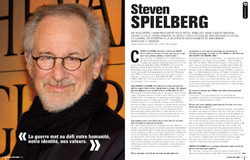 Cinemateaser 11 - Fvrier 2012 - Interview de Steven Spielberg