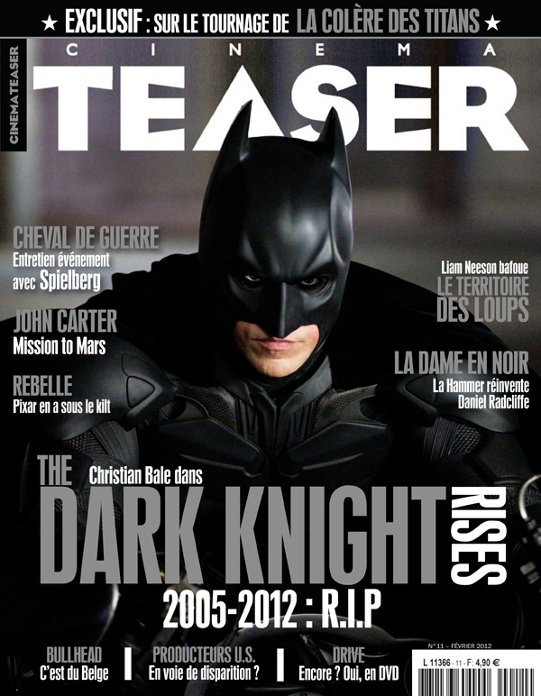 Cinemateaser 11 - Février 2012 - The Dark Knight Rises