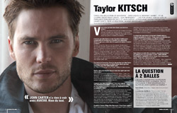 Cinemateaser 12 - Interview de Taylor Kitsch, pour John Carter