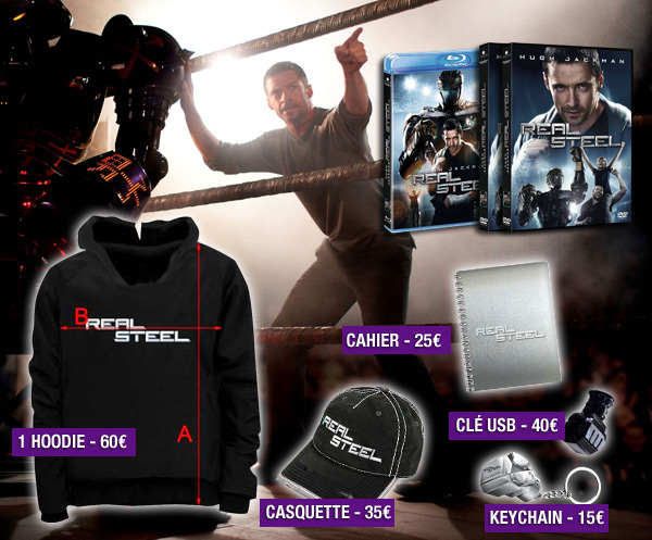 Gros jeu concours FRIGHT NIGHT/REAL STEEL : des DVD, Blu-ray et plein de goodies à gagner !