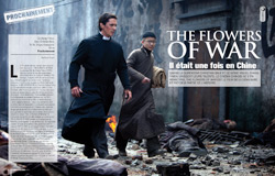 Cinemateaser 12 - Dossier The Flowers of War, avec Christian Bale