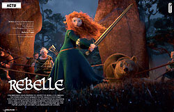 Cinemateaser 16 - Dossier Rebelle, Disney Pixar