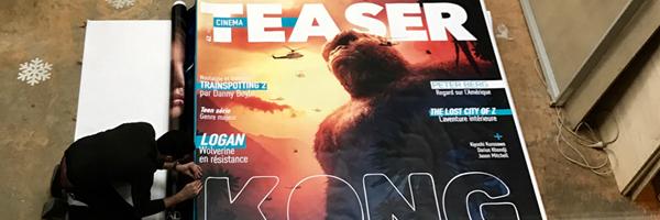 Cinemateaser a créé le plus grand magazine du monde