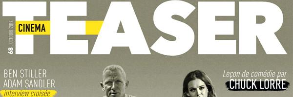 Découvrez en kiosques le 68e numéro du magazine Cinemateaser