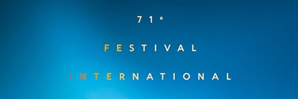 Cannes 2018 : l'affiche officielle